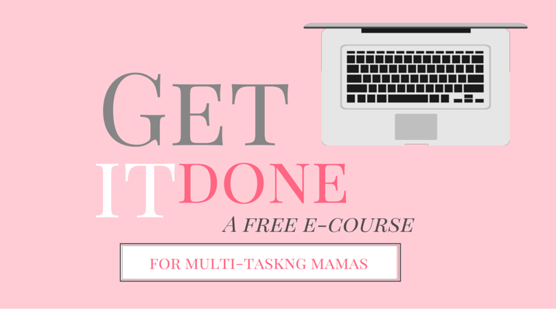 Get It Done ecourse