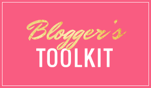 Blogger's Toolkit