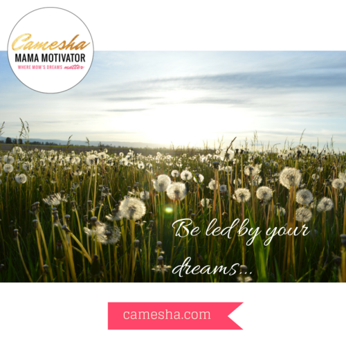 Be led by your dreams B