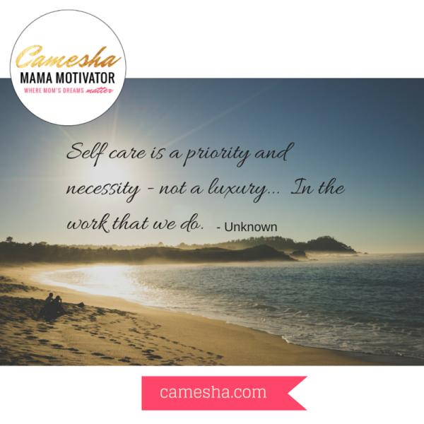 self care priority