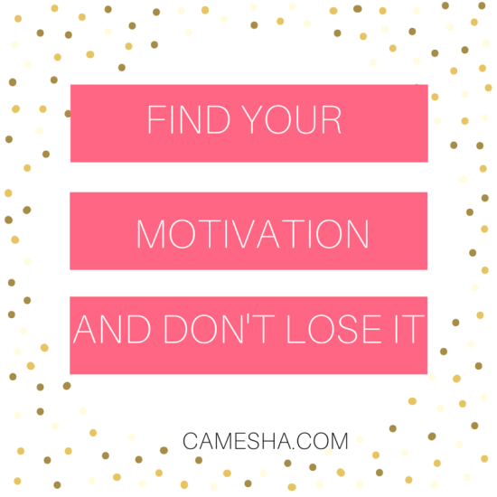Finding the motivation for your goals is easier than it seems. Here's a couple of ways to find yours
