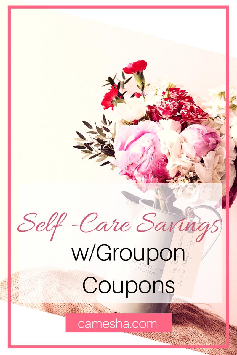 Self care savings with Groupon Coupons