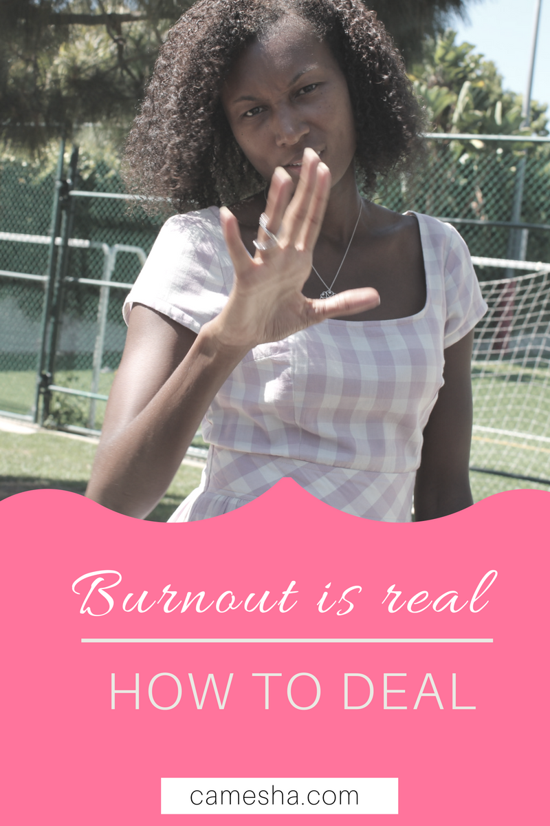 Burnout is real. How to deal.
