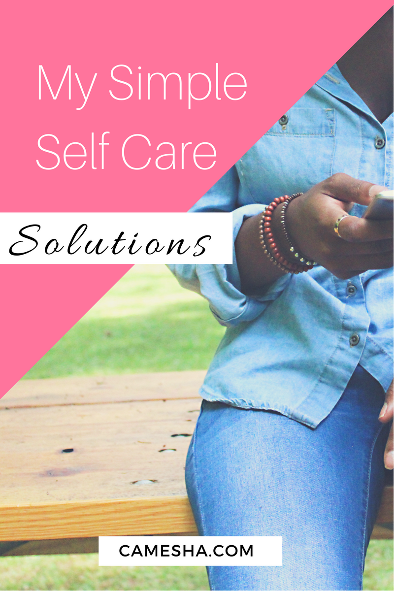 Why does self care all of a sudden seem impossible when you're a mom. I'm sharing my super simple solutions to get it done - easy.