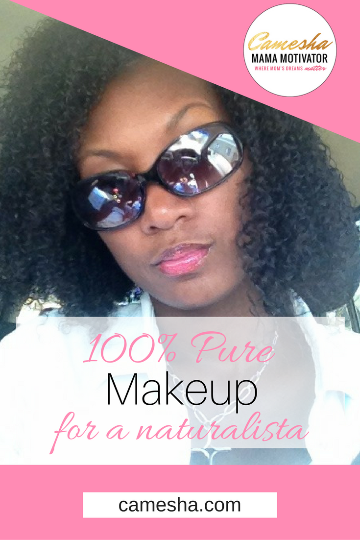 Being a naturalista is getting easier. I found a new makeup that makes staying natural super simple! Let me let you in on a secret that 100% Pure!