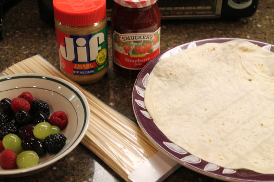 Easy idea for a lunch that's healthy and fun