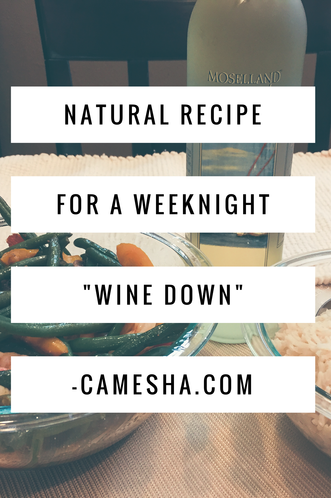 Always on the hunt for natural and organic yummy goodness. Check out this yummy meal for a great way to wine down on a weeknight!