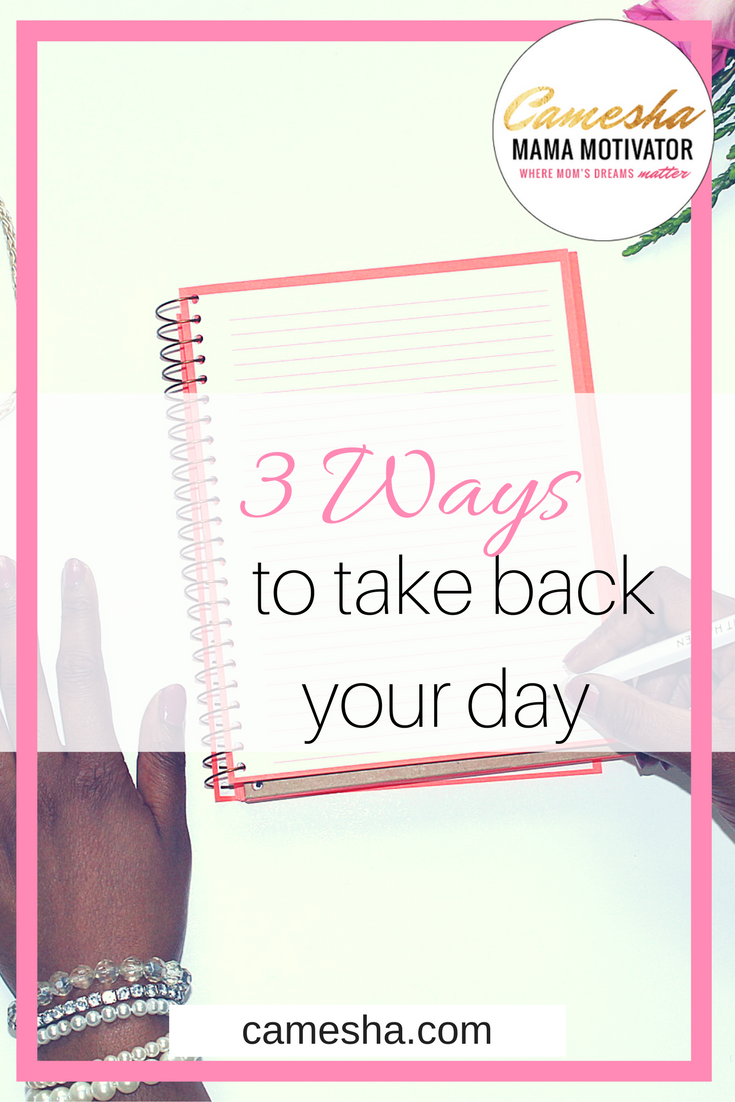 On any given day I see myself as an unpaid Uber driver. Being a mom and a biz owner can easily turn into a big mess of confusion. I have three no fail steps that work to take back your day.