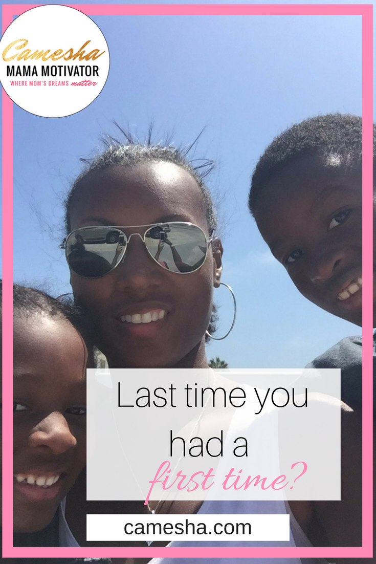 Being a mom can make it a little more of a challenge to do things that are all about you. That doesn't mean you should stop trying though. I just jumped feet first into something new and it's a first. When is the last time you did something for the first time?