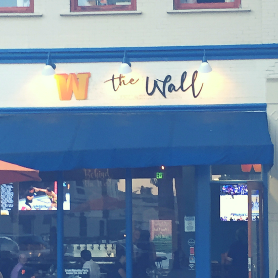 I'm taking a tour of my new area and on this stop, it's time to eat, y'all. Let me tell you all about the Wall restaurant.
