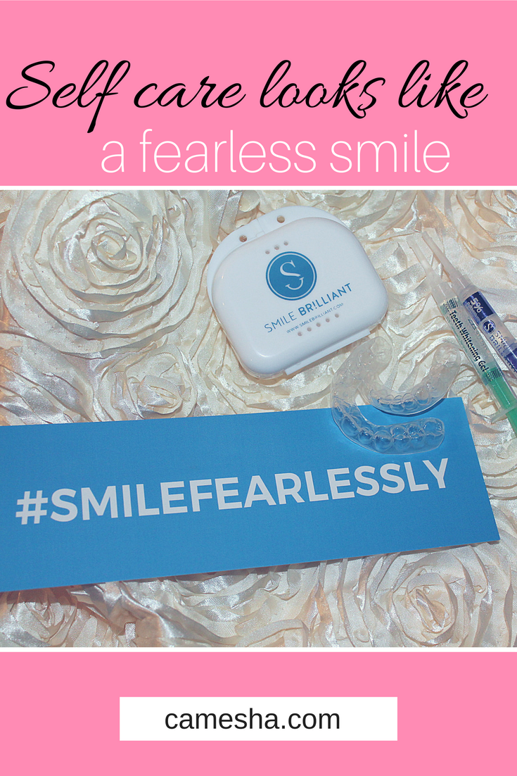 My daily cuppa was taking its toll on my smile. Now my self care routine includes a little boost to help me smile fearlessly!