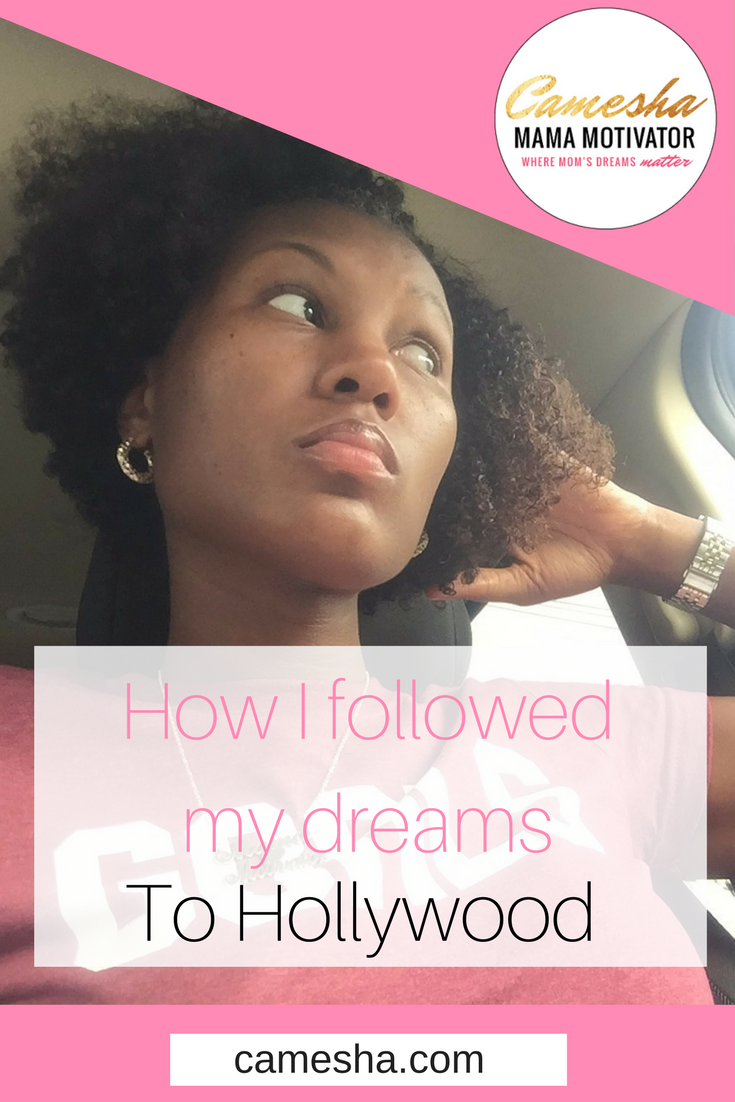 I had nothing but my dreams, drive and my degree. They led me straight to Hollywood.